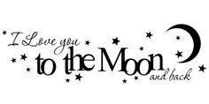 Tot de maan en terug....