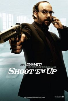 Paul Giamatti. Brilliant in Shoot Em up -but I will watch him anything.