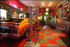 stock car racing themed man cave | man+cave+diner+Route+66-man+cave+diner+Route+66.jpg
