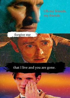 Doctor Who and Les Miserables crossover... I LOVE IT BUT IN A PAINFUL STAB MYSELF IN THE HEART WAY