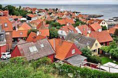 Gudhjem. Bornholm, Denmark.