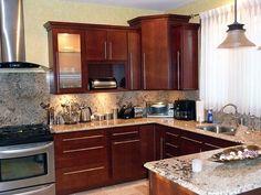 Kitchen Designs: Modern Home Small Kitchen Remodeling Ideas Marble Countertop, open design, Elegant Design ~ OORBAN