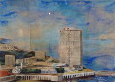 Le Corbusier // projet pour Alger