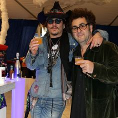 So @Johnnydepp.oficial likes my cocktails... Yes I've had a Good Day!  #cocktails #organic #Grammy's #killinit @hollywoodvampires #brucewitkin #mixology #ilovemyjob #thenaturalmixologist  @omiswheretheartis something I'd missing.... Oh yes.... US!