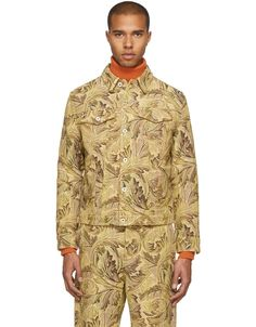 LOEWE Yellow William Morris Denim Jacket · VERGLE