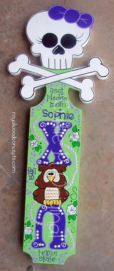 I'm not a sorority girl but I love this paddle
