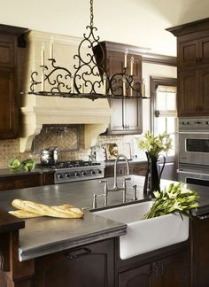 Countertops and Backsplashes -- Pewter Countertop