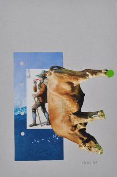 TO BUY: send an email to wegerer. Main Theme, Online Art, Collage Art, Collagen, Authenticity, Certificate, Saatchi Art, Moose Art, Contemporary