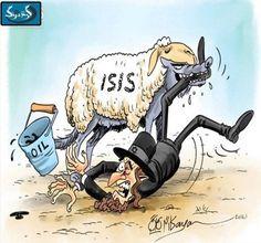 God  #ISIS #Terrorist #Israel #ISIS_Creator by h_seyyed_ali