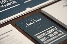 Momenti Unici, Wiesbaden - Corporate Identity by YLF.Design, Italian Restaurant