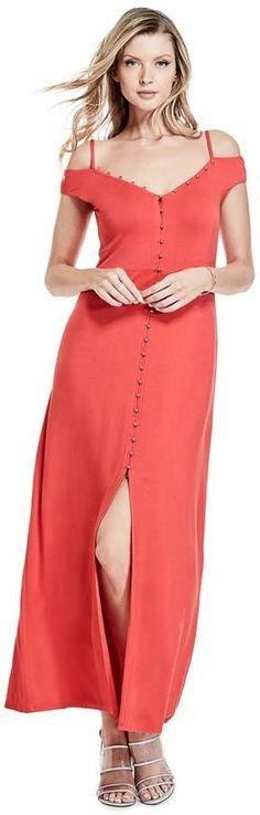 5baf58d2f79 GUESS Women s Ensley Maxi Dress
