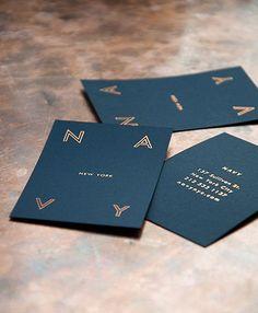 Navy Restaurant business card designs