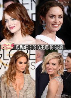 Os melhores looks do Golden Globes Awards.