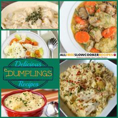 From chicken and dumpling, to dumpling soup, we have all the recipes for dumplings you need to create the perfect comfort food. Scroll down and join us for 11 Wonderful Recipes For Dumplings.