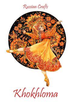 - Russian crafts - by Losenko Mila, via Behance