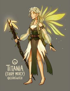 I love this fan made skin for Mercy! Please make it real?