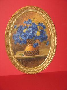 bouquet de fleurs peinture lhuile poque 19me le guide - Nettoyer Une Peinture A L Huile Encrassee
