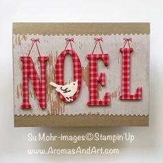 The Christmas Bird Named Noel - Aromas and Art