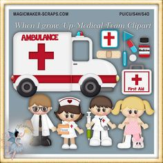 When I Grow Up - Medical Worker Clipart