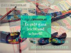 DIY Comic Schuhe selbst designen | DIGITALPARENTS.AT
