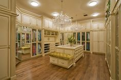 Beautiful, but my wardrobe does not deserve such a grand closet.