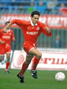 """Filippo """"Pippo"""" Inzaghi back when he played for Piacenza."""