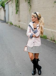 Rainy Day Outfit Ideas - Welcome to Olivia Rink Hunter Boots Outfit, Hunter Rain Boots, Fall Winter Outfits, Spring Outfits, Rain Outfits, Olivia Rink, Wellies Rain Boots, Rainy Day Fashion, Rain Wear