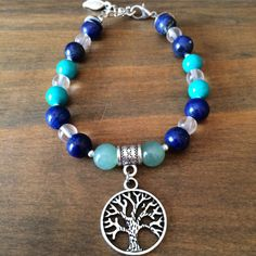 Healing Crystal Bracelet for Anxiety and Panic Attacks by LunaCelesteAustralia