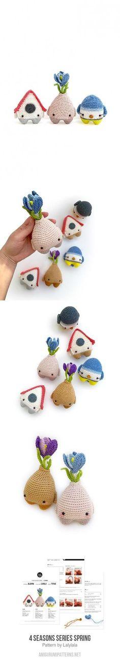 4 Seasons Series Spring Amigurumi Pattern