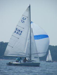 Flyings Scots ,Spinaker reach Sailing Yachts, Sailing Ships, Dinghy, Sailboats, Sketching, Peace, Painting, Sailing, Jon Boat