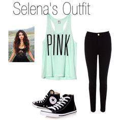 """Selena's Outfit"" by lovemakingstories on Polyvore"