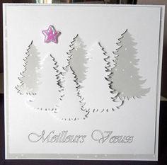 Carte de Noël christmas cardcarte avec sapincarte