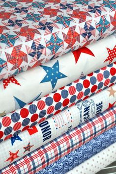 stars and stripes   {4yh of july, americana, fabric}