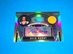 2007-08 Bowman Sterling Rick Barry Autograph Game Used Jersey RELIC Refractor 1/10 RARE: Card is #RB (1/10). RARE!!! Beautiful Card!  All cards in NRMNT-MINT condition. Any questions feel free to ask.  FREE SHIPPING!!  All cards are put in a top loader and shipped in a bubble wrapper envelope!  Be sure and check my store on a regular basis to see what new items I have posted. THANK YOU!...