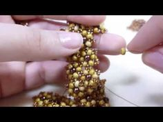 TheHeartBeading: Small Floral Bracelet Tutorial - YouTube