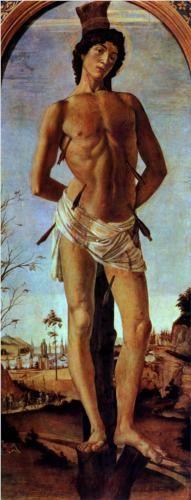 Sebastian - Sandro Botticelli-1473. Berlin
