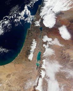 ISRAEL SATELITE NASA