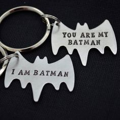 These adorable keychains are perfect for couples, or father and son/daughter that want something fun and unique to demonstrate how they are tied