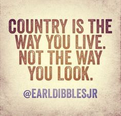"If only more ""country girls"" understood this."