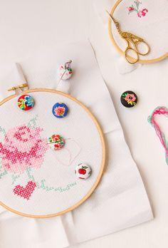 Molly Mell: DIY Cute Needle Minders