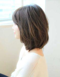 可愛いひし形ミディアムスタイル(SY-355) | ヘアカタログ・髪型・ヘアスタイル|AFLOAT(アフロート)表参道・銀座・名古屋の美容室・美容院