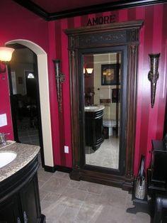 Alkemie: Closet Inspirations and Organization, mirror as part of the closet