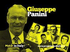 Giuseppe Panini, primo fondatore dell'azienda assieme al fratello Benito! Mad in Italy!