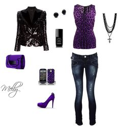 my design. perfect concert outfit & accessories. :)