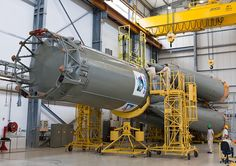 /by Arianespace #soyuz #rocket #assembly