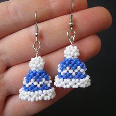 Seed Bead Bracelets Tutorials, Beaded Bracelets Tutorial, Beaded Earrings Patterns, Jewelry Patterns, Jewelry Ideas, Bead Crochet Patterns, Beading Patterns, Loom Patterns, Beading Ideas