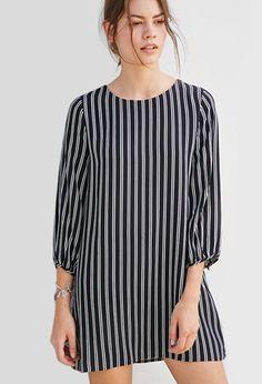 Striped Shift Dress | Forever 21 - 2000157207