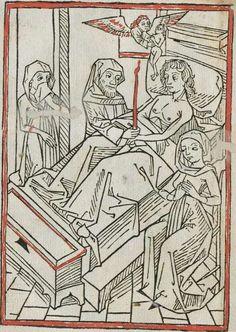 Buechlin von dem Sterbenden menschen Augsburg, ca. 1480/81 Ink M-325 - GW M25595  Folio 4