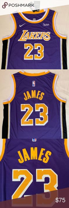 f908e5bd4 Lebron James Lakers Jersey Statement Edition NWT Lebron James Statement  Edition Lakers Jersey Authentic Nike NBA