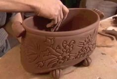 Soft Slab Planters – How to Make Handmade Flower Pots |